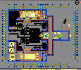 安置房项目商业区D区装饰工程施工图预算(含图纸及计算书)