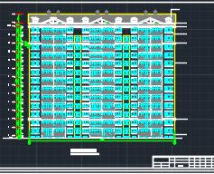 十三层框架剪力墙结构住宅楼工程量清单(含图纸)