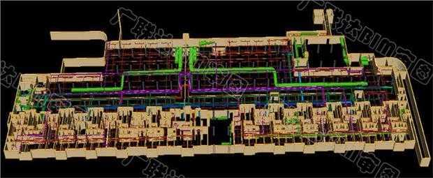 广联达BIM审图同时-多方法专业安装迅达图纸建模bks图片
