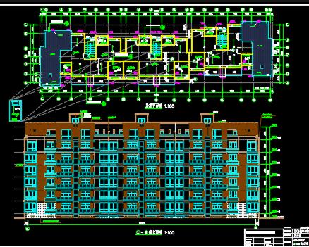 7层住宅楼建筑结构施工图纸
