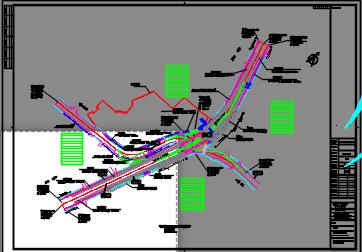 道路立交工程施工图预算(含图纸)