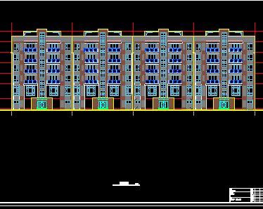 6层框架住宅楼毕业设计计算书及图纸