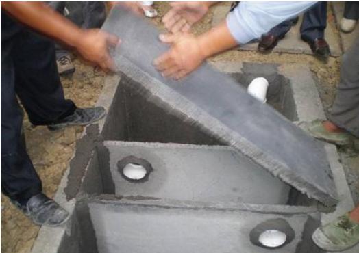 农村厕所排水结构图