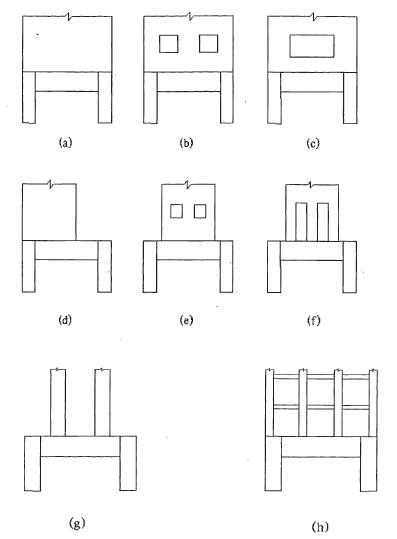 型钢混凝土梁式转换层结构有哪几种型式?图片