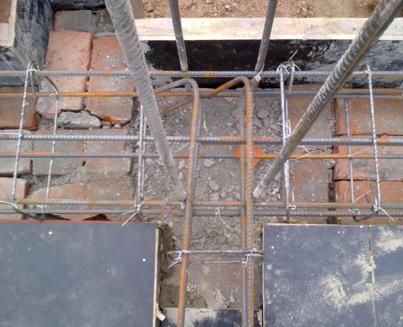 建筑工程砖混结构构造柱钢筋是3级钢12的应搭接多少