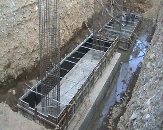 施工工艺流程 基坑开挖 开挖方法的选择根据实际的地质情况,环境条
