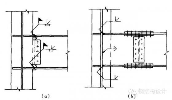钢框架梁柱连接节点构造 - 结构设计知识