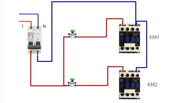 接触器的n类实用接线分享和讲解