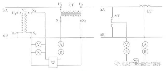 电压互感器的一次绕组和被测回路并联,而电流互感器的一次绕组需要