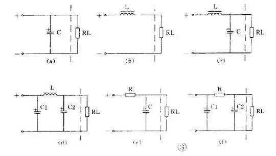 """用 1 个电感和 2 个电容的滤波电路因为象字母"""" π """",被称为 &pi"""