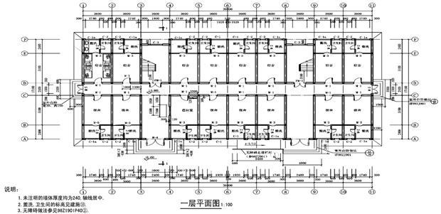 建筑平面图的读图注意事项有哪些?