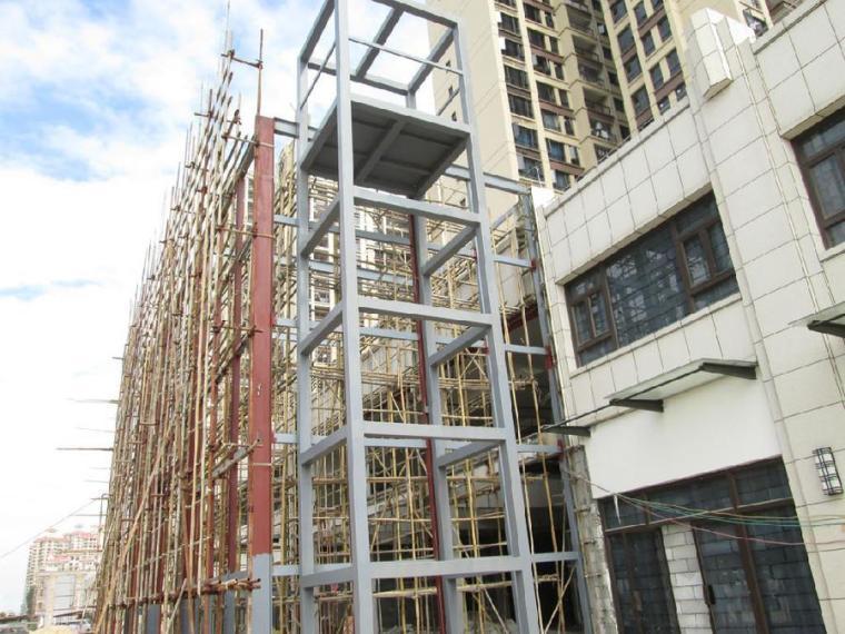 旧楼加建电梯为什么选择钢结构电梯井道?