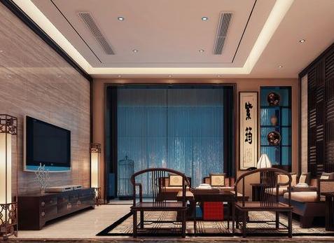 最新住宅、别墅装修图纸推荐:中式风格