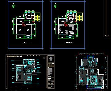 小户型设计图免费下载 - 建筑户型平面图 - 土木工程网