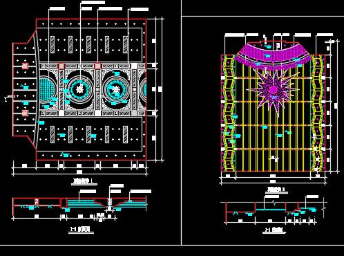 工装棚面设计详图