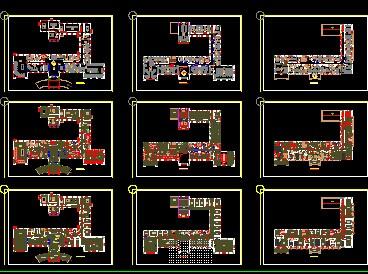 办公楼装修设计图免费下载 - 建筑装修图 - 土木工程网