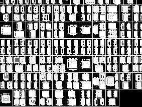 各类装饰门设计图库