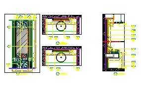 台盆柜设计图纸