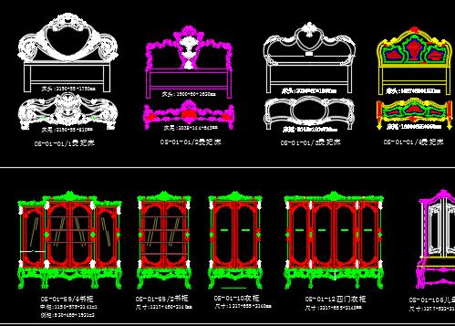 古典欧式家具图库