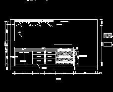 3套厨房橱柜家具设计图纸