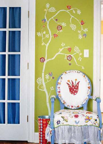 DIY墙面 尽情享受涂鸦乐趣图片