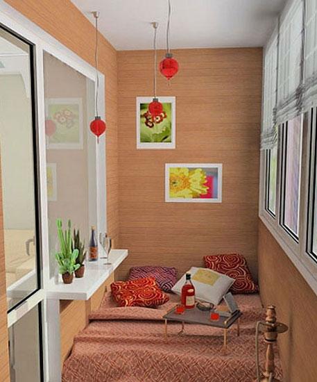 小阳台改造成卧室,可谓是别有风情,夜晚躺着看看窗外的星空,在来一