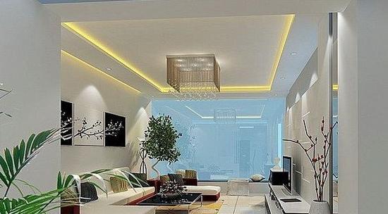 欧式客厅电视背景墙 好看的家装 - 装修效果图