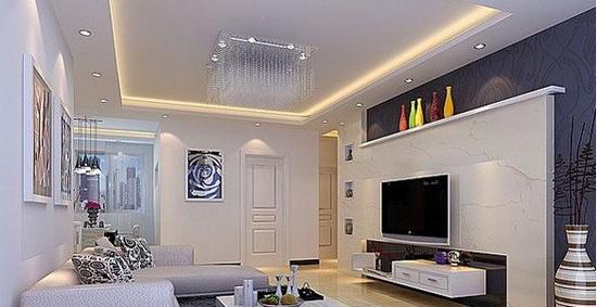 欧式客厅电视背景墙 完美的组合
