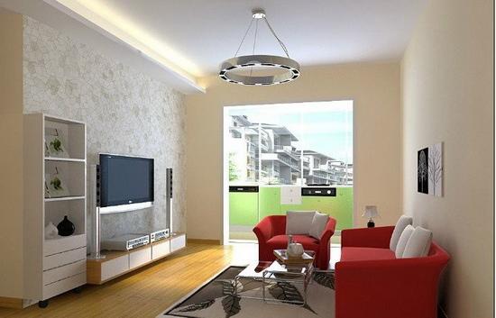 欧式客厅电视背景墙 公寓的适用化