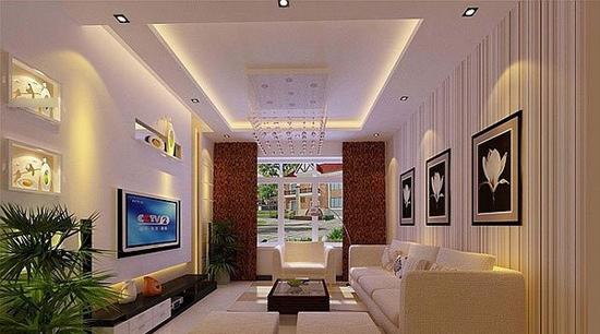 欧式客厅电视背景墙 2012的装饰