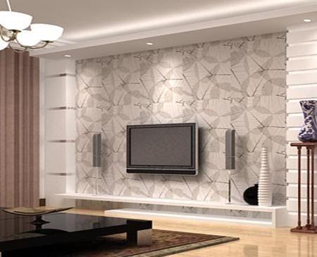 欧式客厅电视背景墙 小资的高雅气质