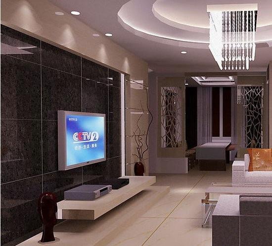欧式客厅电视背景墙 体现出大气
