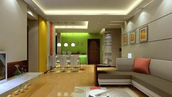 欧式客厅电视背景墙 完美的组合 - 装修效果图