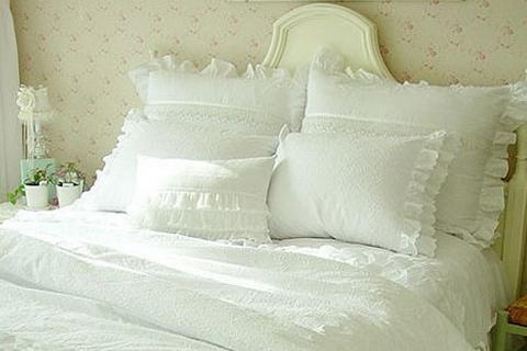 田园风格卧室 8款床品推荐
