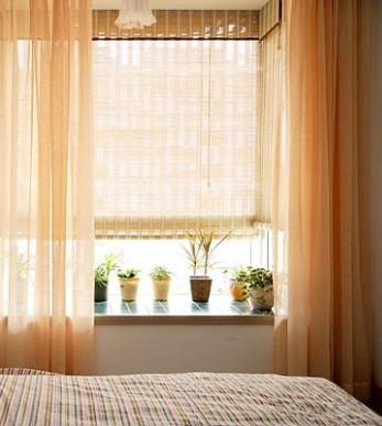 最爱自由风 飘窗窗帘设计 - 装修效果图