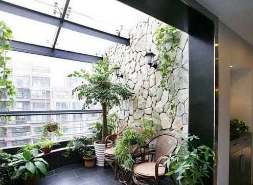 经典阳台装修案例 创意设计闪耀你的眼