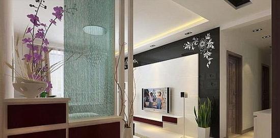 欧式客厅电视背景墙 造型的创意