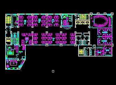 办公室空间设计平面图