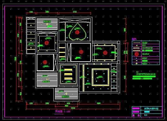 家庭装修施工图_一套CAD家装施工图纸免费下载 - 装修图纸 - 土木工程网