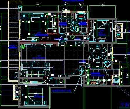 房屋装修施工图免费下载 - 装修图纸 - 土木工程网