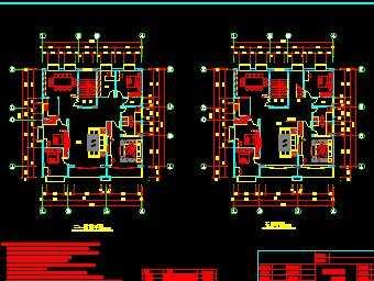 某复式楼平面设计图
