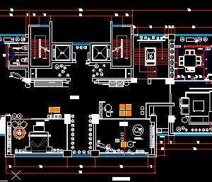 某灯具店装修设计方案图