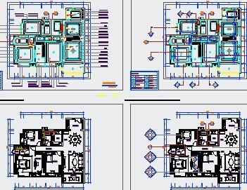 住宅室内装修设计图纸