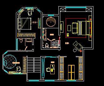 某住宅装修设计图