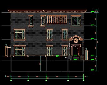 自建别墅设计图