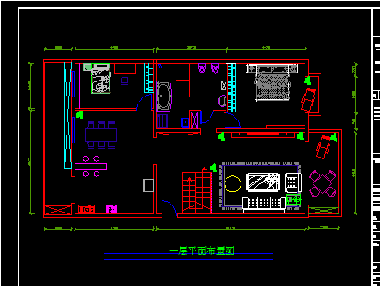 一套复式楼公寓装修设计图纸