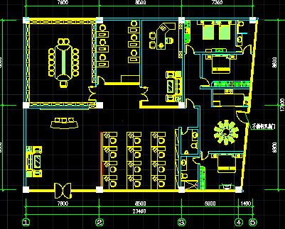 办公室装修设计图纸免费下载 - 装修图纸 - 土木工程网