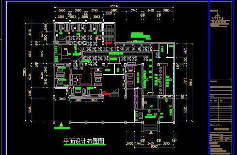 酒吧装修施工图纸免费下载 - 装修图纸 - 土木工程网