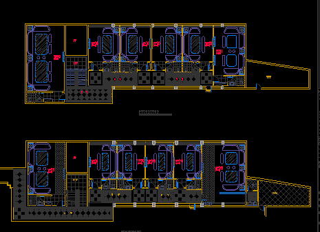KTV装修设计图纸(含效果图)
