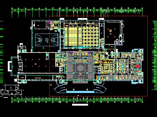 奢华五星级大酒店室内装饰施工设计图(含效果图)
